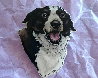 Custom Illustrated Pet Portrait Jewellery
