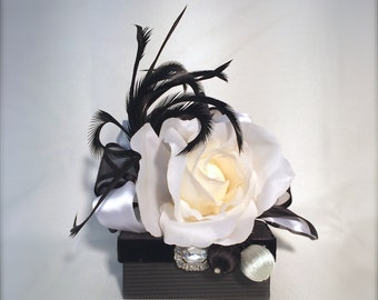 Jewelry Gift Box Black White Party Favors Gift Card box Wedding Favors  Gift Cards Mothers Day, Christmas, Bridesmaid, Handmade, Decorative