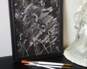 Abstract Lo Studio- Abstract paintings, abstract artwork, art, framed art, wall art decor