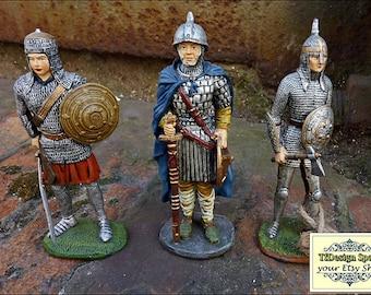 Soldiers figurines, Metal soldiers figurines, Small soldiers figures for sale, Art figure soldiers, Warriors figures, Warriors medieval 11cm