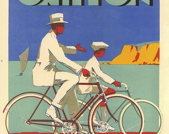 Cycles Griffon Bicycle Poster  (#0152) 6-sizes