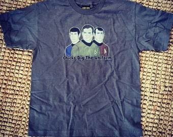 """Star Trek """"Küken graben die Uniform"""" Herren Shirt"""