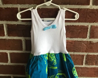 Pouli Moana Dress/ Hawaiian Dress/ Baby Girl Dress