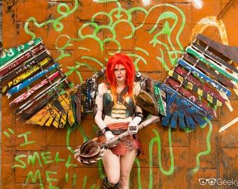 Cosplay Print - Atomic Hawkgirl