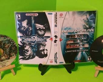 Dead or alive 2  , soul caliber.  Dreamcast flips.