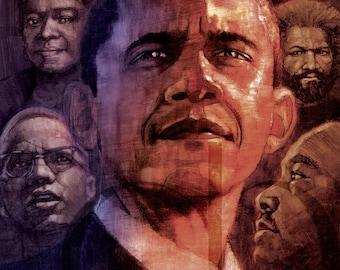 Barack Obama - Limited Edition Print 8.5 x 11