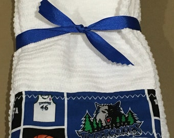 Minnesota Timberwolves Hand Towels
