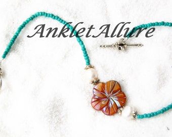 Anklet Ankle Bracelet Beach Anklet Pearl Anklet Body Jewelry Cruise Jewlery Anklet For Women
