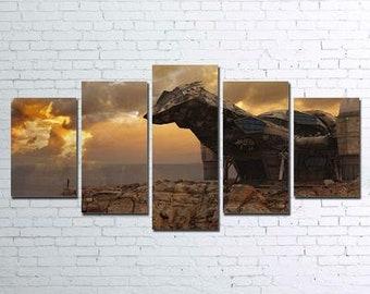 Firefly 5pc Canvas Set
