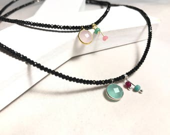 Collar Feel spinel. Feel spinel Necklace