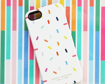 Donut sprinkles iPhone 6s Case, Pencil Shavings Studio, iPhone Case, Sprinkles, donuts, Kate Spade, Preppy, Whimsical, colorful