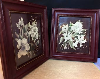 Beautiful Floral Turner Prints . 10x8 1/2 .