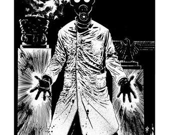 Iron Sphincter - The Zombie Band: 'Heinrich Von Pummelschaftt' Print