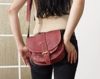 Leather Saddle Bag Leather Saddle bag Leather Saddle Bag Leather Saddle Bag Leather Saddle Bag Leather Messenger Crossbody Purse Goldmann S!