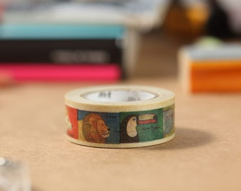 MT Washi Tape Animal Japanese Masking Tape | mt for kids (MT01KID010)