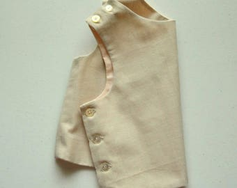 Moonstone Cotton Tunic Infant and Toddler Shirt Handmade by Papoose Clothing