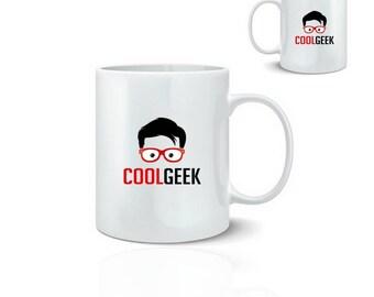 Mug cool geeky - ceramic mug 325 ml