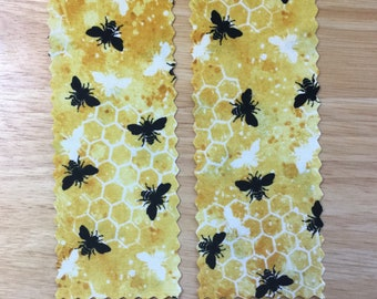 Bee a Reader Bookmarks set of 2
