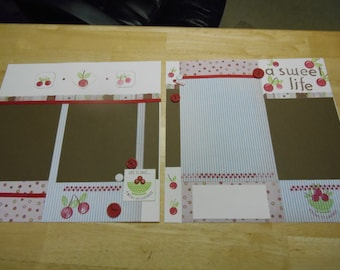 Cherry - Two page layout