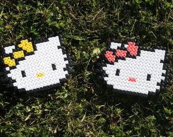 Pixel Art / Bead sprite Hello Kitty