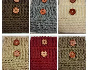Sale! Choose Any 3 Boot Cuffs  Women's Crochet Boot Toppers, Boot Socks, Leg Warmers.(was 32.00)