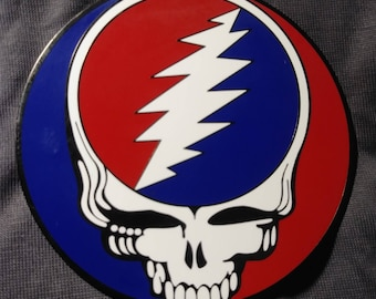 "2"" Steal Your Face pin. Grateful Dead. Dead and Company. Widespread Panic. Phish."