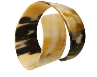 Buffalo Horn Wrap Bracelet