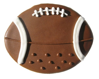 "Football Cookie Cutter Sports Cookie Cutter Boys Cookie Cutter 3.5"" RM-1395"