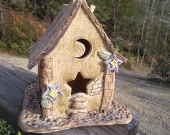 Whimsical Bird or Fairy House