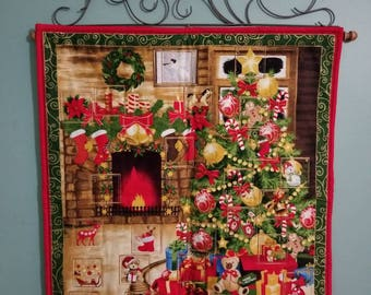 My Favorite Things Advent Calendar/Countdown to Christmas Wall Hanging