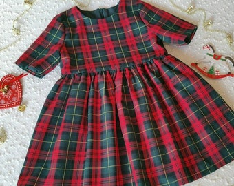 Girls dress, Christmas dress