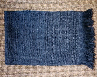 Scarf Barley * hand woven wool and silk