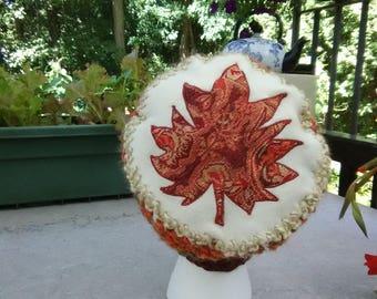 Fall Maple Leaf Hat