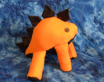 Fall Colored Stegosaurus Plush