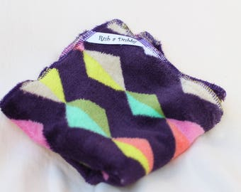 """Rub a Dubby """"Kite Tails"""" baby mealtime washcloth 3-pack"""