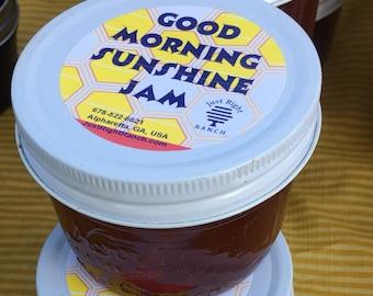 Good Morning Sunshine Apricot Mango Jam