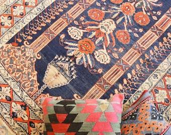 FREE SHIPPING!!! Persian Muskabad Rug, Antique Rug, Pastel Colors Rug, Turkish Rug, Boho Area Rug, Oushak Rug  185 x 138 cm / 6 x 4.5 ft