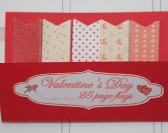Valentine's Page Flags