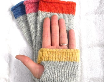 Fingerless Gloves Knitting Kit