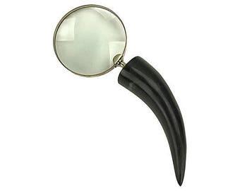 Horn-Handled Magnifying Glass