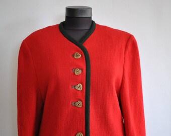 Vintage HANDMADE WOMEN'S blazer ....(351)