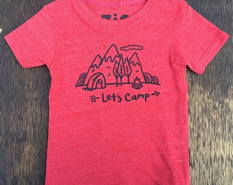 Let's Camp tee