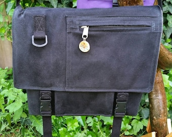 Custom Crafted Canvas Messenger Bag