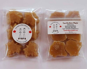 1/2 Pound Maple Candies made with Pure Vermont Maple Syrup,  Free Shipping