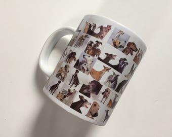 Collage GREYHOUNDS Mug