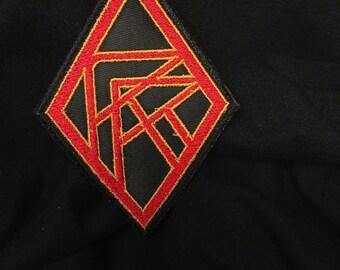 Red Rocket Logo Patch