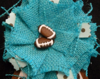Football Baby Shower Corsage