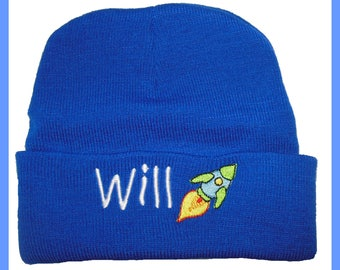Personalised Beanie Hat - 10 Colours to choose From - Quality Embroidered