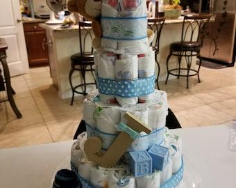 Royal baby diaper cake
