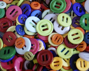 50 Ribbon Sliders Rainbow Mix, Slider Buttons,  Assorted Size, Sewing, Crafting, Jewelry Create  (AG 35)